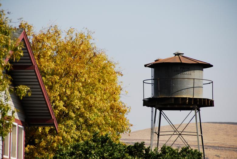 Free Stock Photo of Water Tank in the Foothills Created by j. l. johnson