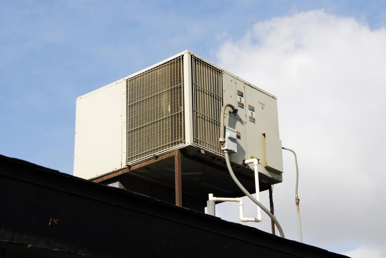Free Stock Photo of Air Conditioning Unit Created by j. l. johnson
