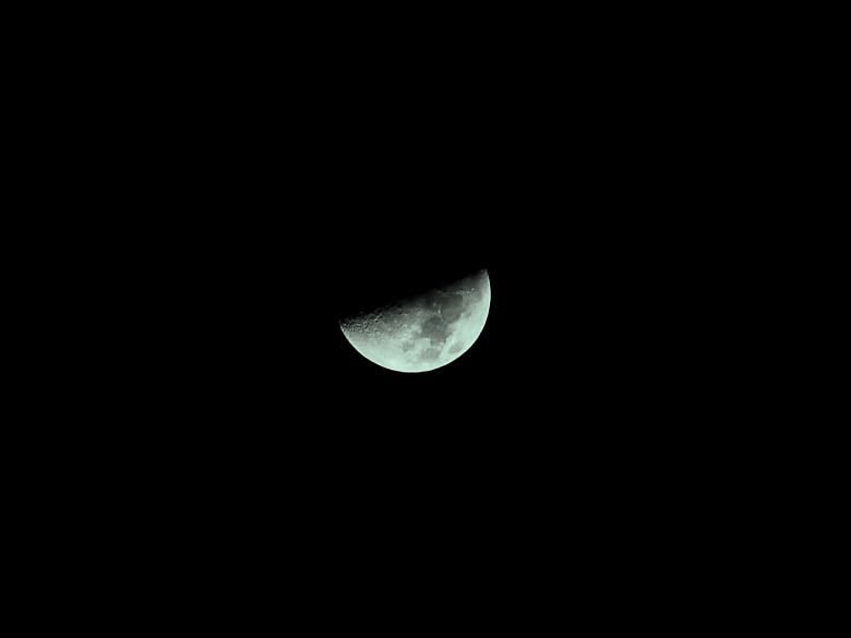 Free Stock Photo of Half Moon November 28, 2006 Created by j. l. johnson