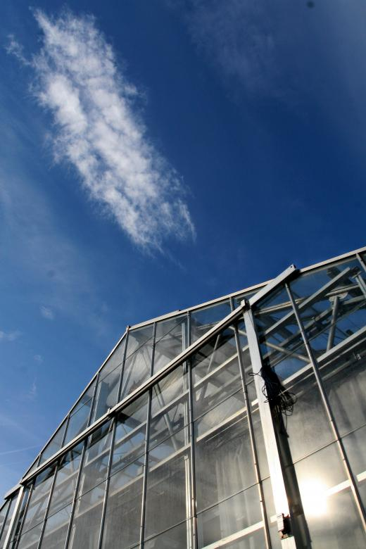 Free Stock Photo of Sky Greenhouse Created by fabio grande