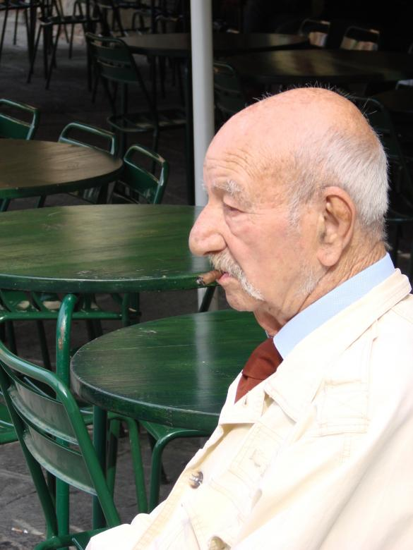 Free Stock Photo of Italian old man Created by j skinner