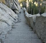 Free Photo - Morro Rock Stairs in Sequoia National Pa