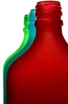 Neon Bottles S.3 - Free Stock Photo