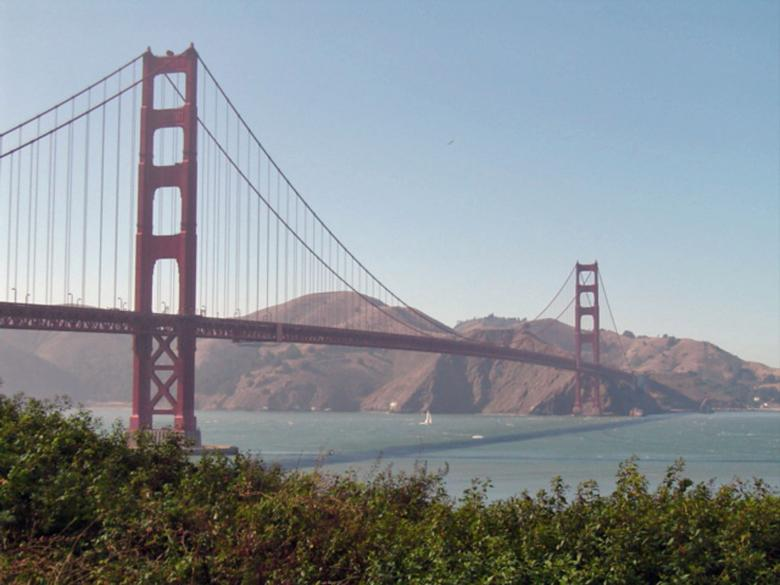 Free Stock Photo of San Francisco bridge Created by isabelle lacazotte