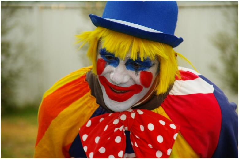Free Stock Photo of Birthday Clown Created by karl tattersall