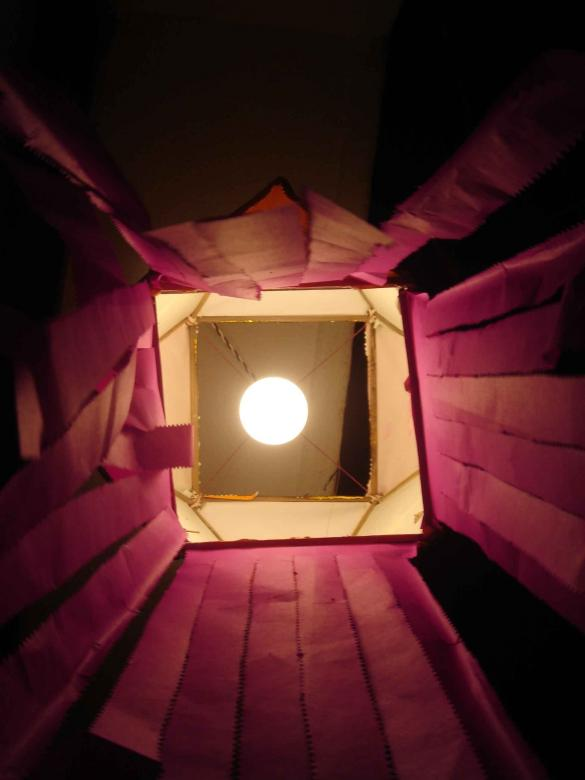 Free Stock Photo of Moon through the box Created by damini.rawal