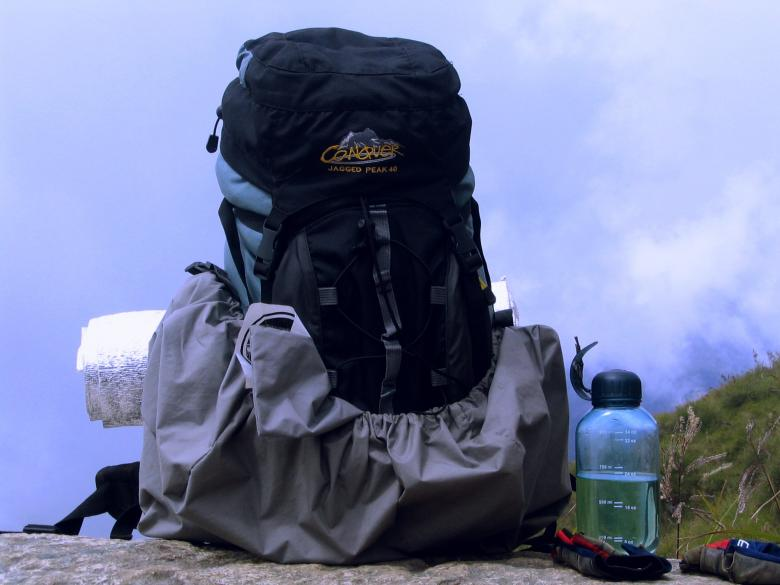 Free Stock Photo of Hiking bag Created by requel legaspino