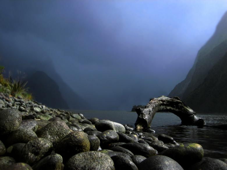 Free Stock Photo of Milford Sound Created by ojk007
