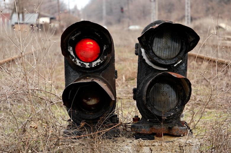 Free Stock Photo of Old Signal Created by yavor michev