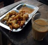 Chai & Pakora - Free Stock Photo