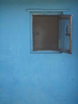Blue window - Free Stock Photo
