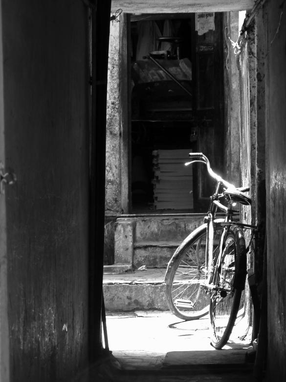 Free Stock Photo of Bicycle blues Created by saurabh malhotra