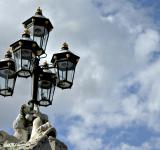 Free Photo - Street lights against the sky