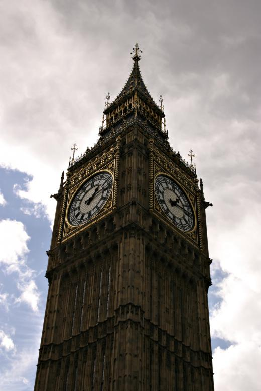 Free Stock Photo of Big Ben closeup Created by Bjorgvin
