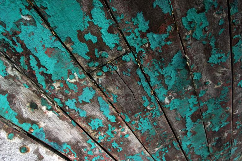 Free Stock Photo of Old painted wood Created by Héðinn