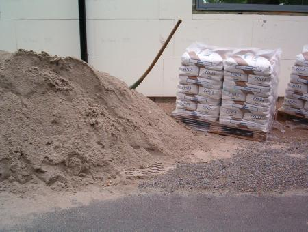 Pile of sand - Free Stock Photo