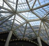 Free Photo - Glass roof structure