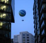 Free Photo - Ballon over the city