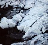 Free Photo - Frozen cliffs