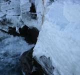 Free Photo - Frozen cliffs by the sea