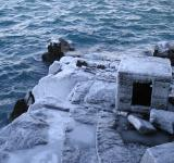 Free Photo - Icy cliff