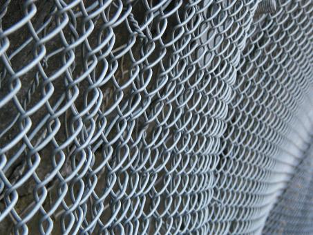 Steel Fence Grid - Free Stock Photo