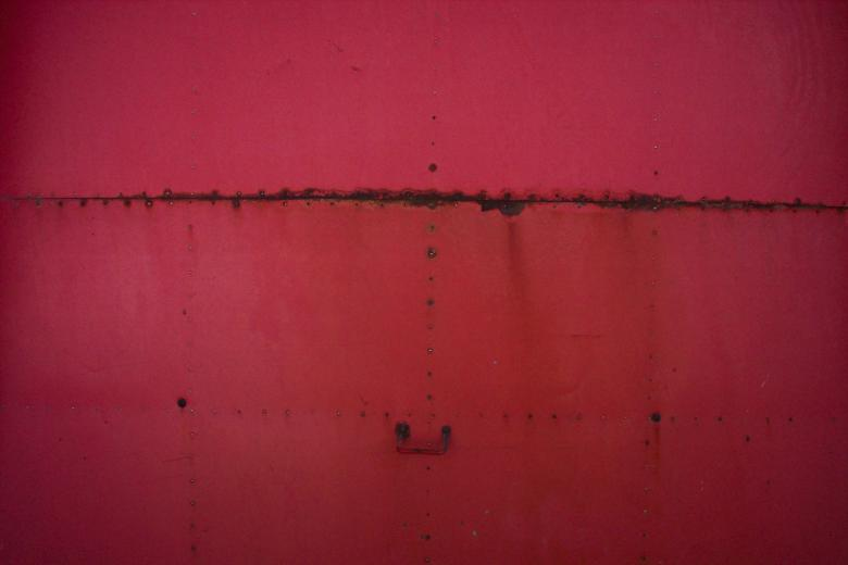 Free Stock Photo of Red Metal Texture Created by Bjorgvin Gudmundsson