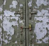 Free Photo - Peeled Metal Door