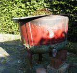 Free Photo - Old watertank used as a barbeque