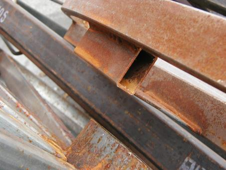Rusted metal bars - Free Stock Photo