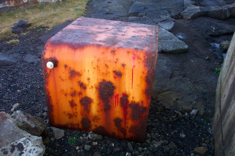 Free Stock Photo of Rusted steel tank Created by Héðinn