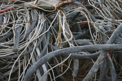 Pile of cables - Free Stock Photo
