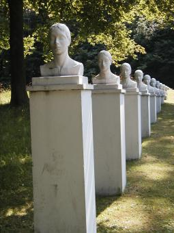 Row of heads - Free Stock Photo