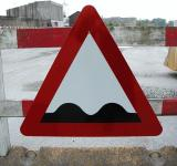 Free Photo - Warning Sign - Bumpy Road