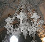 Free Photo - Chandelier of skulls and bones