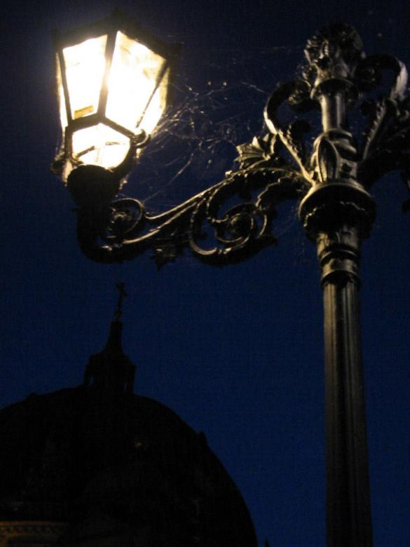 Old street light Free Photo
