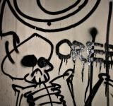 Free Photo - Graffiti skull