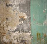 Free Photo - Cracked green concrete