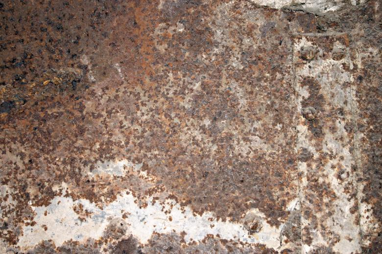 Free Stock Photo of Rusted Texture Created by Bjorgvin Gudmundsson