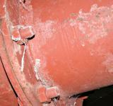 Free Photo - Red steel pipe