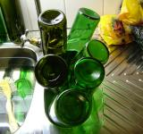 Free Photo - Green bottles