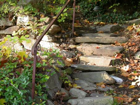Rock stairs - Free Stock Photo