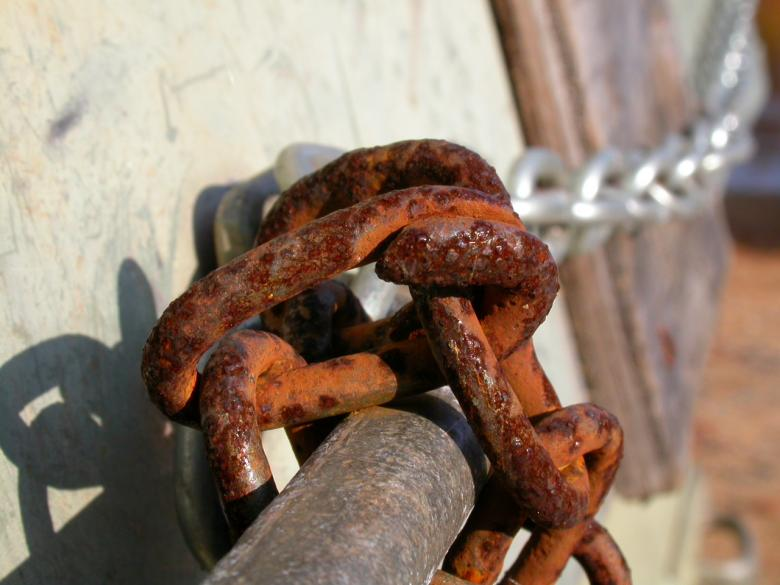 Free Stock Photo of Rusted chain Created by raymond henry