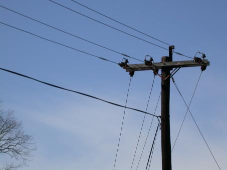 High voltage power lines - Free Stock Photo