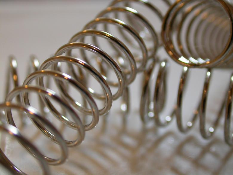 Free Stock Photo of Metallic springs Created by raymond henry