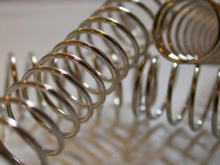 Metallic springs - Free Stock Photo