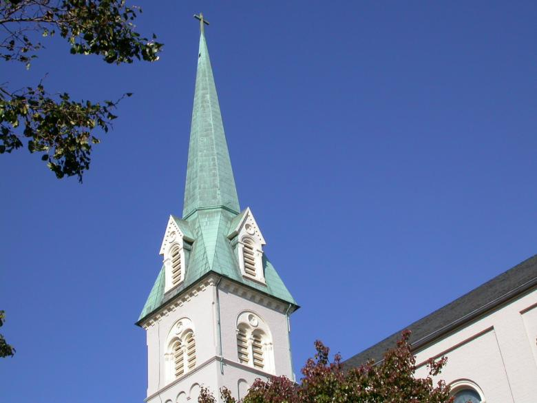 Free Stock Photo of Church tower Created by raymond henry