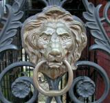 Free Photo - Lion door knob