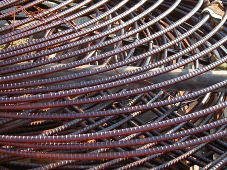 Reinforcing bars - Free Stock Photo