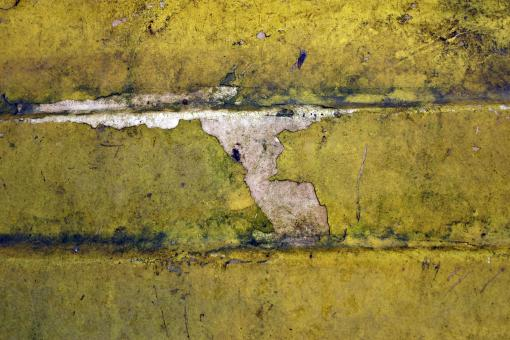Yellow painted surface - Free Stock Photo